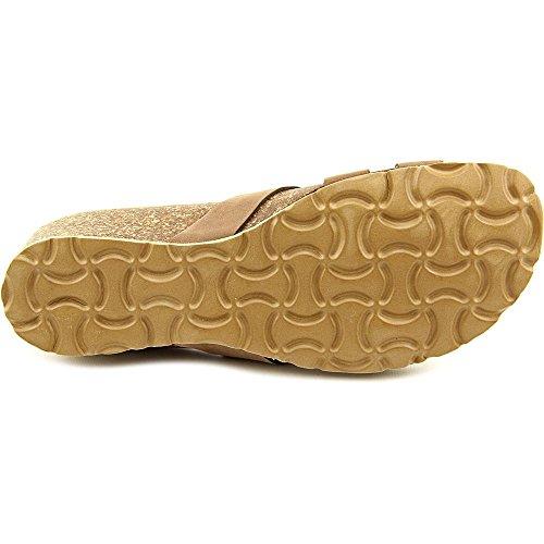 Easy Street Sandalo Damen Breit Nubukleder Sandale Mocha