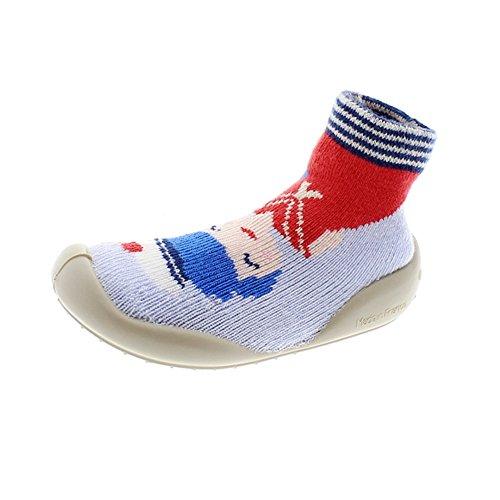 Zapatos Niña Zapatillas Casa Collegien 755d AZ/bl 30I31