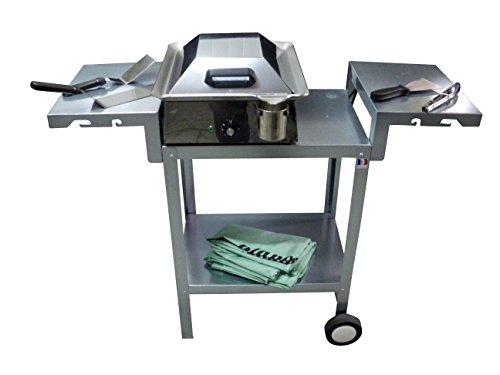 Planchaelec 89501 Classic 400 Pack Plancha Electrique Inox 40 x 45 x 16 cm
