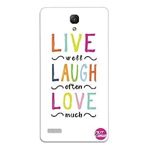 Designer Xiaomi Redmi Note Prime Case Cover Nutcase-Live Laugh Love