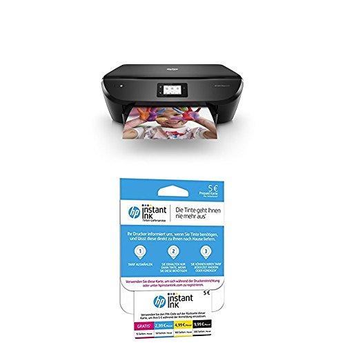 HP Envy Photo 6230 + HP Instant Ink Karte (Tarif für 15, 50, 100 oder 300 Seiten pro Monat) (Photo Hp Professional Printer)