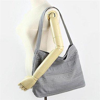 Frauen Leinwand Casual/Outdoor Umhängetasche Gray
