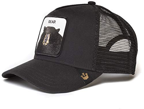Goorin Bros. Trucker Cap Black Bear Schwarz, Size:ONE Size