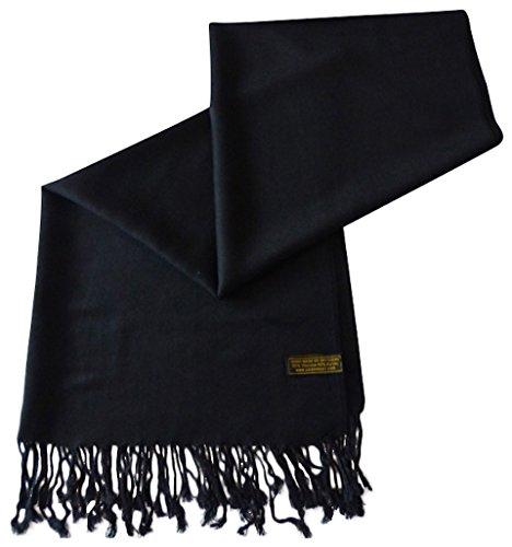 Einfarbiges Design Stola Schal Umschlagtuch Schultertuch