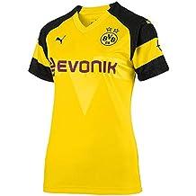 BVB 09 Borussia Dortmund - Camiseta de Manga Corta para Mujer 23506a82d5bf5