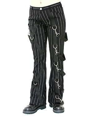 Aderlass Cross Pants Pin Stripe Black-White (Größe 40)