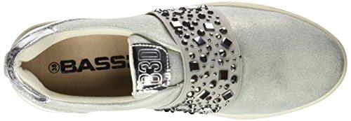 BASS3D 041326, Chaussures femme Argenté