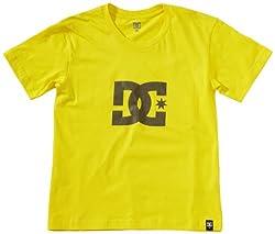 DC Shoes Jungen T-Shirt Star Standard, Blazing Yellow, 188, D071200015