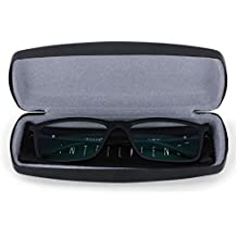 Intellilens® Square Unisex Blue Cut Spectacles With Anti-glare for Eye Protection (Zero Power, Black)