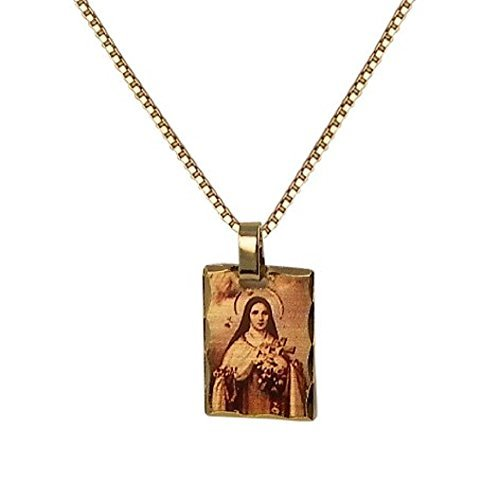 rosemarie-collections-womens-religious-medal-pendant-necklace-st-therese-the-little-flower