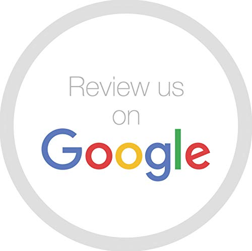 Aufkleber - Label Rezension us on Google - Google Maps Rating (X-rating)