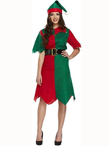Fancy Abito Costume Elfo Donna