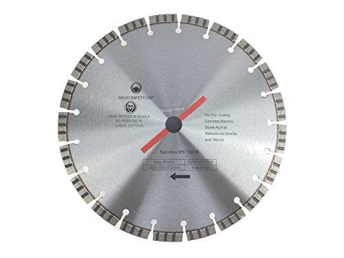 Diamanttrennscheibe 350 x 30 mm TURBO für Beton, Stahlbeton, Stein, Klinker, etc.