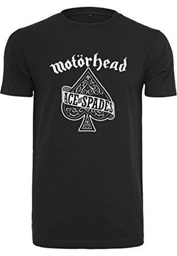 MERCHCODE Herren Motörhead Ace of Spades Tee T-Shirt, Black, XXXXL