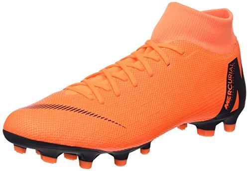 NIKE Herren Mercurial Superfly VI Academy MG Fußballschuhe, Schwarz (Black/Total Orange-W 081), 38.5 EU