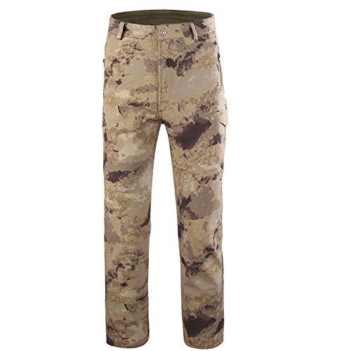 ♚ Pantalones Deportivos de Camuflaje para Hombres, Pantalones Militares tácticos Casuales para...