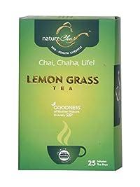 nature Chai Lemon Grass Tea 50-25 Tea Bags(Pack of 3)