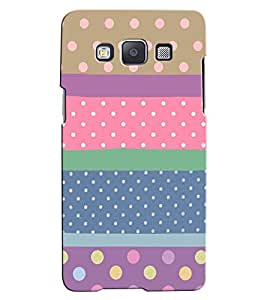 Citydreamz Dots Pattern Hard Polycarbonate Designer Back Case Cover For Samsung Galaxy On5