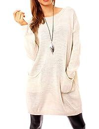 c0bbfa73a1ab Suchergebnis auf Amazon.de für  Grobstrick-Pullover, - Damen  Bekleidung