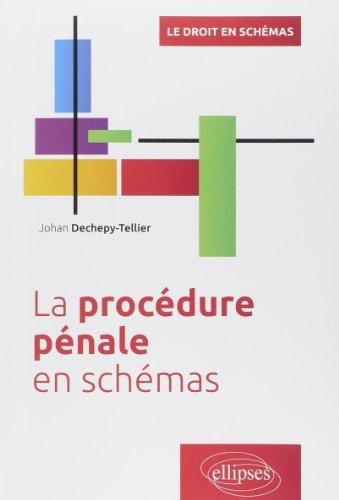 La Procdure Pnale en Schmas de Johan Dechepy-Tellier (6 janvier 2015) Broch