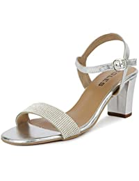 sale retailer where can i buy 2018 shoes Silver Women's Fashion Sandals: Buy Silver Women's Fashion ...