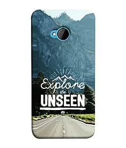 PrintVisa Designer Back Case Cover for HTC M7 :: HTC One M7 (Direction Travel Nature Backcover Wallpaper Idea Concept Promotion)