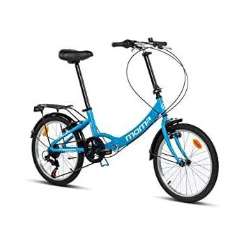 Moma Bikes Bicicletta Pieghevole Ruota 20 Shimano Alluminio