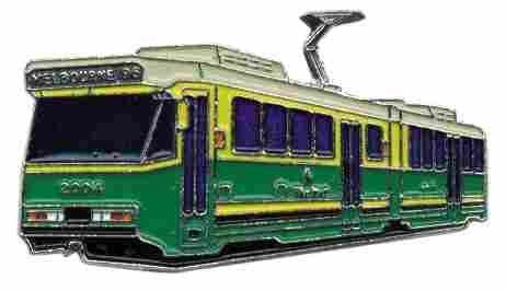 PIN Straßenbahnwagen 2004 Melbourne* von Euro-Pokale