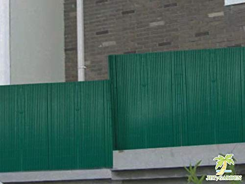 canisse double face pvc vert h180 x 300 cm