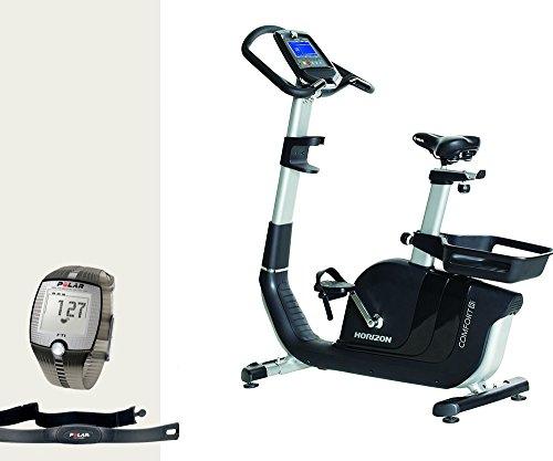 Preisvergleich Produktbild Comfort 8i Ergometer - Horizon Fitness und FT1 Polar Pulsuhr