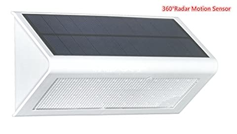 48 LED Security Lights, Solar Powered Lights Outdoor Wall Lamp