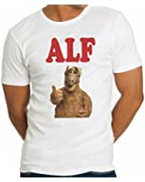Alf Portrait Tv Show Design Men T-Shirt