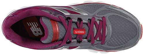 New Balance W1080 B V5, Damen Laufschuhe Grau (gp5 Grey/purple)