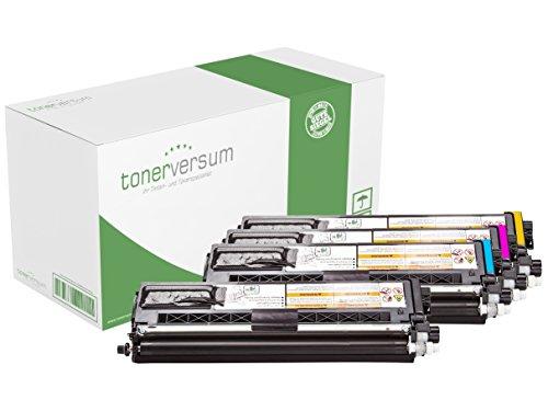 Preisvergleich Produktbild 4x Toner CMYK (alle Farben) Spar-Set ers. Brother TN-910BK (black), TN-910C (cyan), TN-910M (magenta), TN-910Y (yellow) für HL-L 9310 CDW / HL-L 9310 CDWT / HL-L 9310 CDWTT / MFC-L 9570 CDW / MFC-L 9570 CDWT | Premium-Toner 4x9000 Seiten | CMYK
