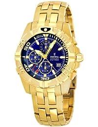 Festina Herren-Armbanduhr XL Chronograph Quarz Edelstahl beschichtet F16119/2
