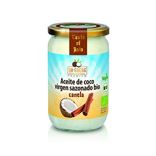 Dr. Goerg  Aceite de Coco Canela Bio - 175 gr