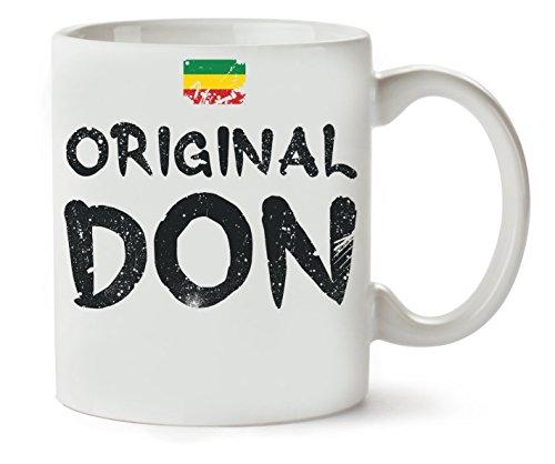 Original Don Trap Rasta Flag Art Klassische Teetasse Kaffeetasse