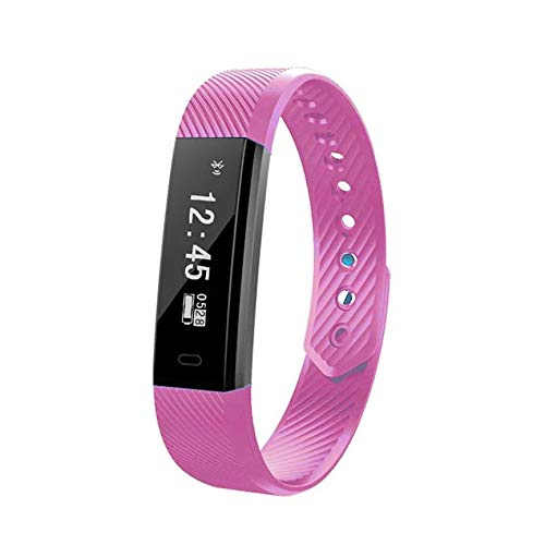 Peanutaod Sport wasserdichte Schritt Armband Sport Intelligentes Armband Fitness Schrittzähler Armband Schlaf Monitor Anruferinnerung Bild groß