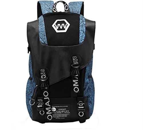 Imagen de wtus hombre gran capacidad de los estudiantes de secundaria la   de tela de tendencia de moda hombres hombros  de viaje bolsas