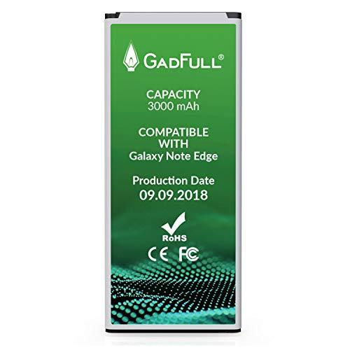 GadFull Batería de reemplazo para Samsung Galaxy Note Edge   2018 Fecha de producción   Corresponde al Original EB-BN915BBE   EB-BN915BBC   Compatible con SM-N915F   SM-N915FY