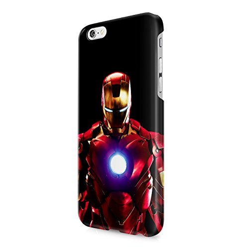 Iron Man Tony Stark The Avengers Superhero Arc Reactor Hard Snap-On Protective Case Cover For Iphone 6 / Iphone 6S
