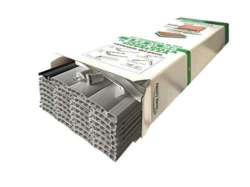 KIT TAPPARELLA IN PVC (L 173 X H 160 CM, PVC04 GRIGIO SIMIL RAL 7040)