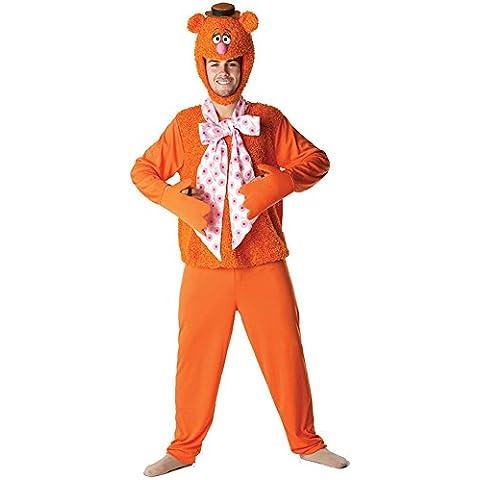 Rubie's - Muppets disfraz de Fozzie el oso para adulto (889804)