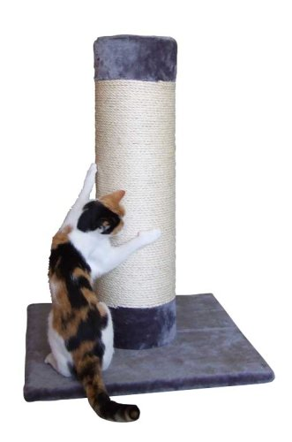 Kerbl 82502 Katzen Kratzbaum Opal Ultra zum Kratzen und Klettern, Höhe 80 cm