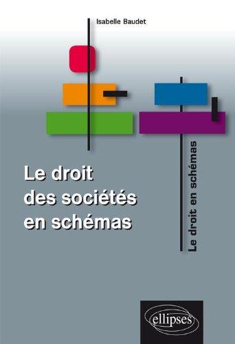 Le droit des sociétés en schémas par Isabelle Baudet