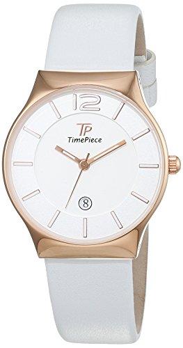 Time Piece Damen-Armbanduhr Classic Analog Quarz Leder TPLS-32418-41L