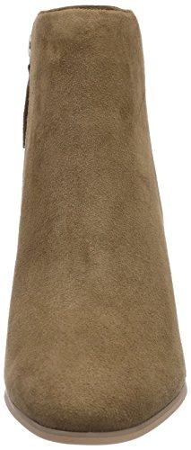 Buffalo London 414-4469 KID SUEDE, Stivali classici imbottiti a gamba corta donna Beige (Beige (CAMEL))
