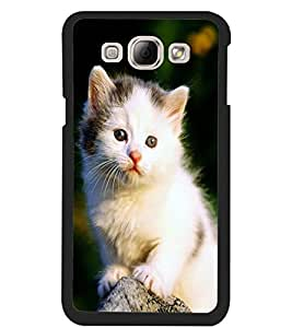 ColourCraft Cute Cat Design Back Case Cover for SAMSUNG GALAXY A8