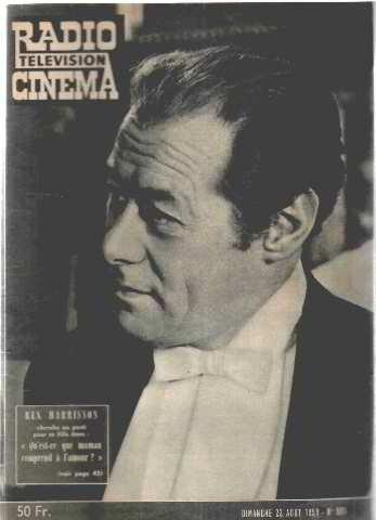 Revue radio cinema television n°501