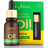 Elansa 100% Pure Lemon Essential Oil, 15ml